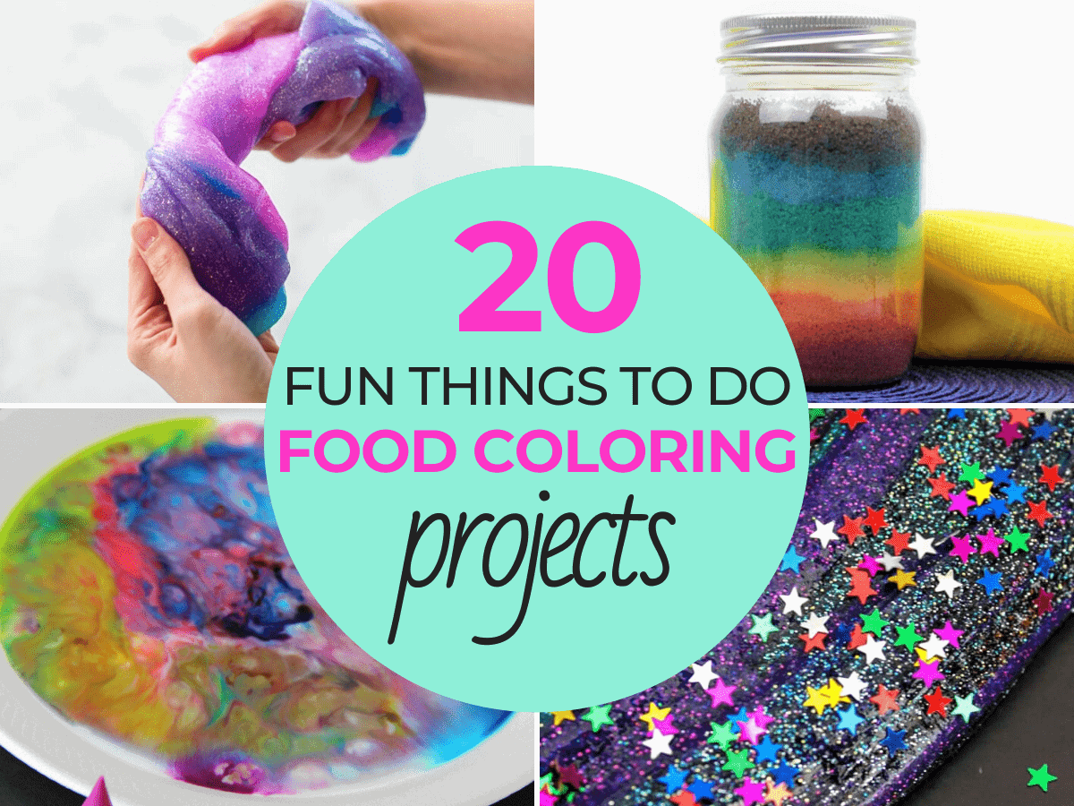 Fun Things to Do With Food Coloring