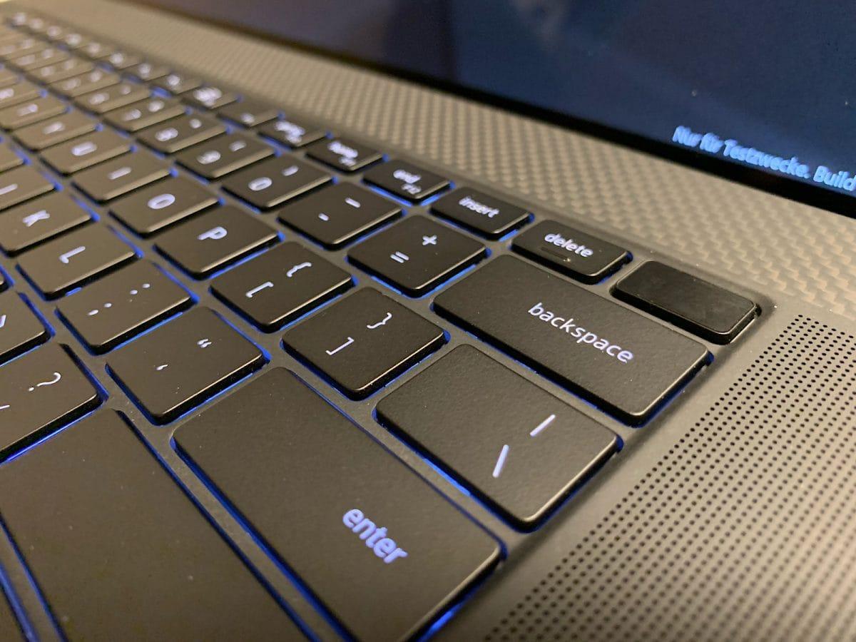 Dell Precision 5750 - Einschalter mit Fingerprint-Sensor