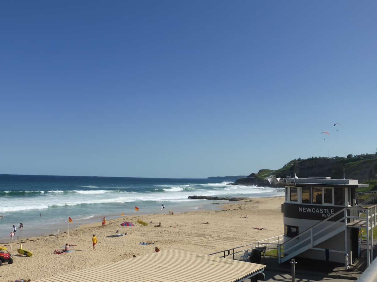 Bathers Way Coastal Walk in Newcastle NSW