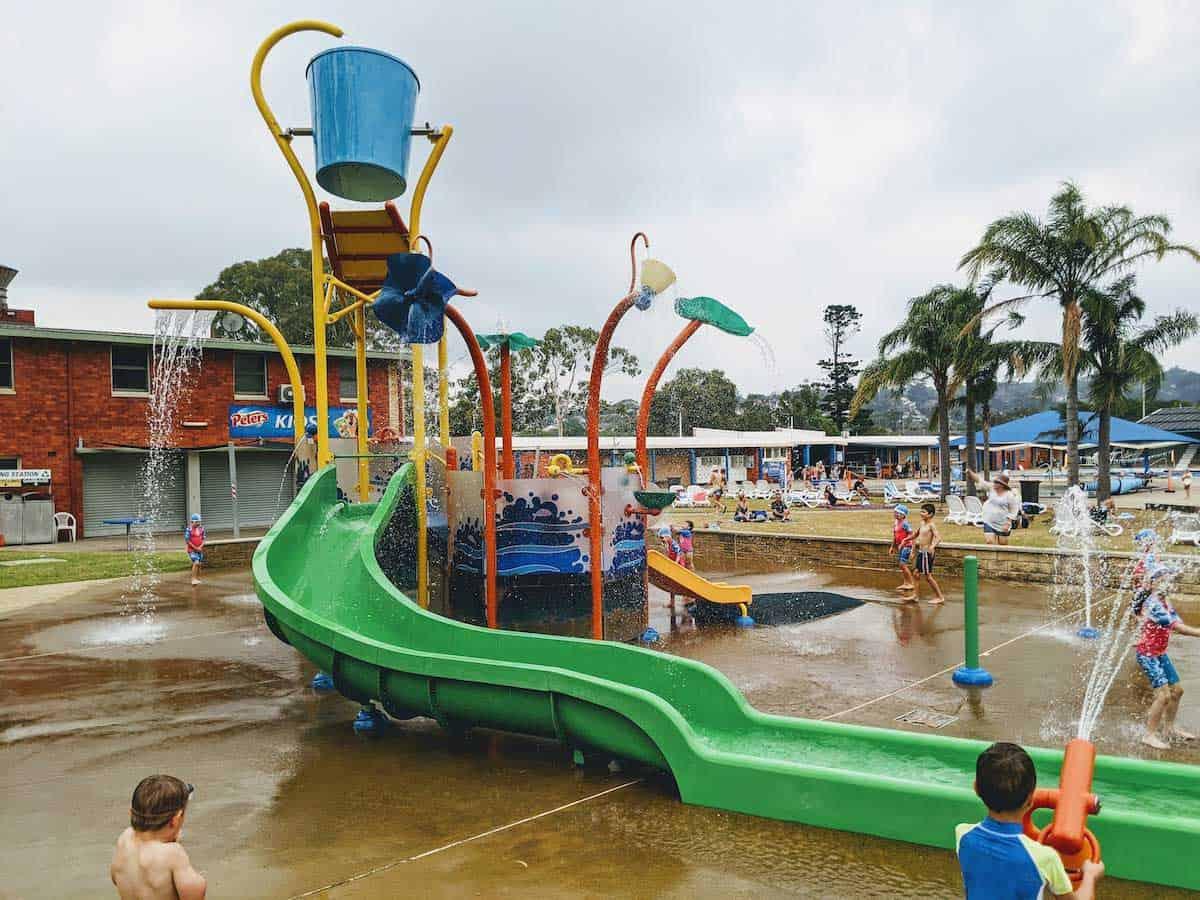 Lambton Pool Aquatic Playground