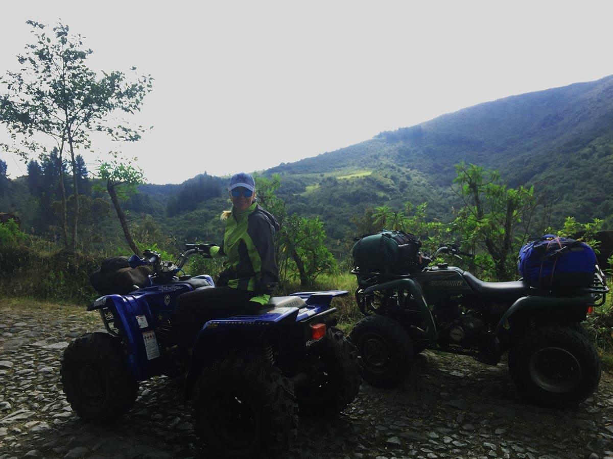 Ecuador en ATV Cuadron Cotopaxi