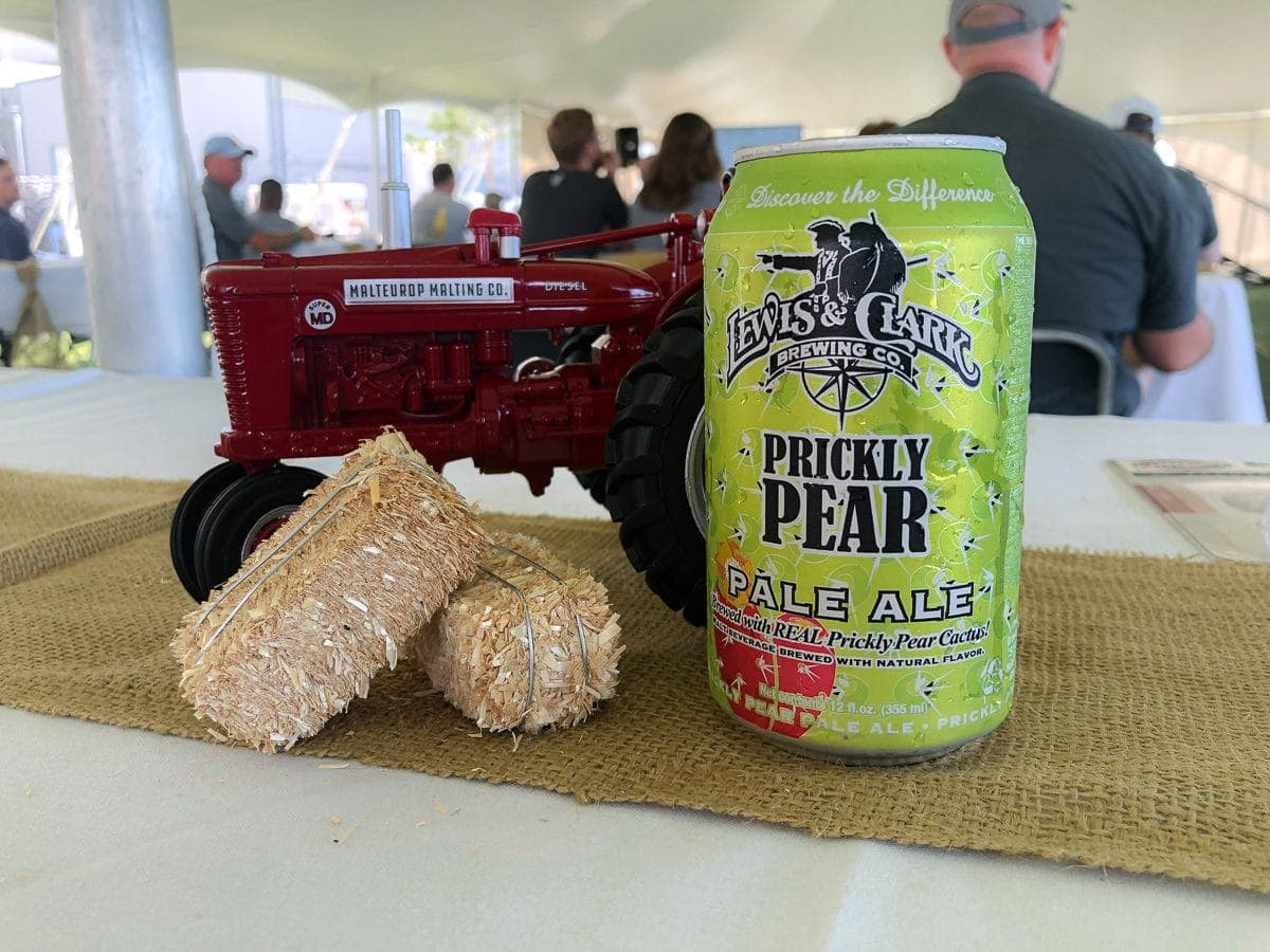 Prickly Pear Pale Ale by Lewis & Clark Brewing Company in Helena, MT