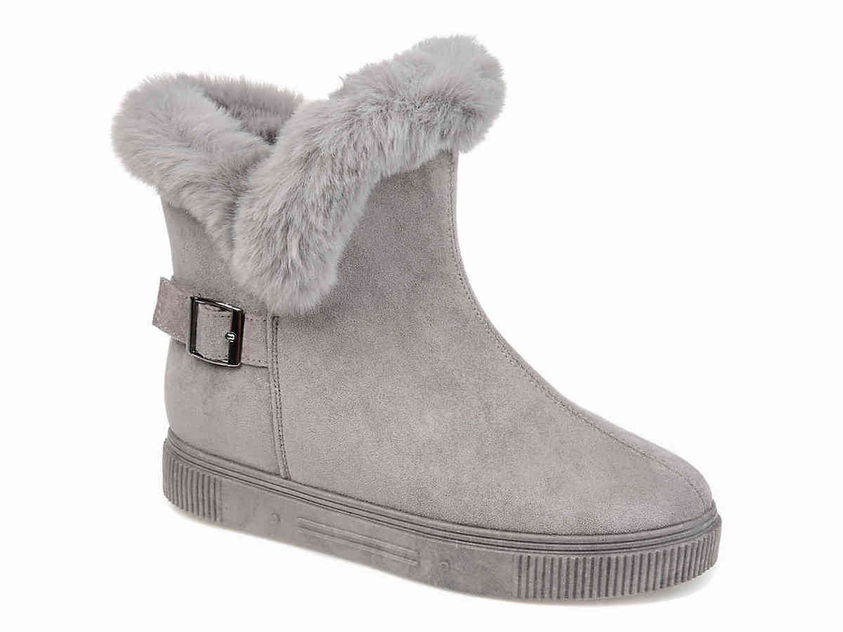 Journee Collections Sibby Boot - #uggboots #wintershoes Check out these epic list of the best quality Ugg look alikes that will keep you toasty warm in the winter for much cheaper. My favorite is...