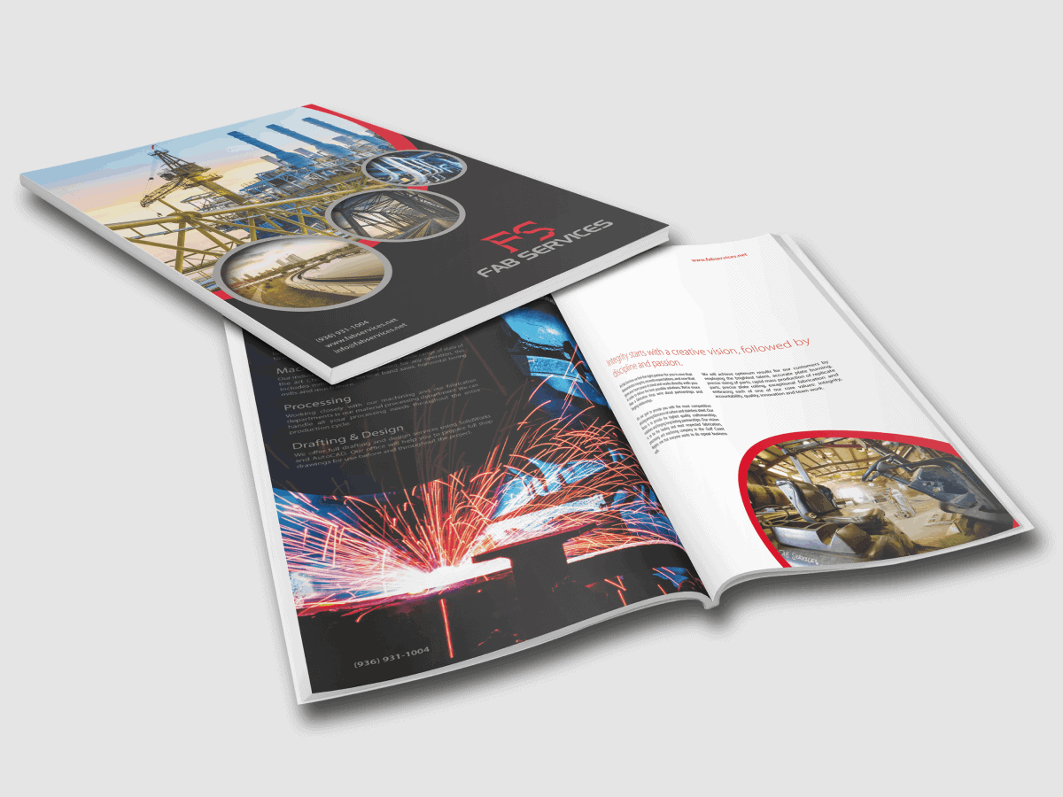 Fab Services Industrial Catalog Design