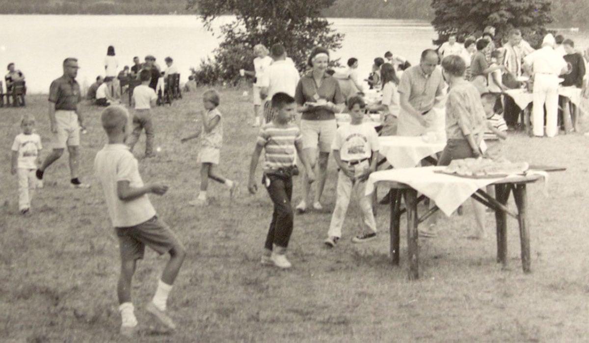 Historic photo of Camp Michigania
