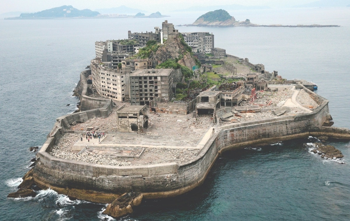 Hashima Nagasaki, Japan (c) TheAsahiShimbun via GettyImages