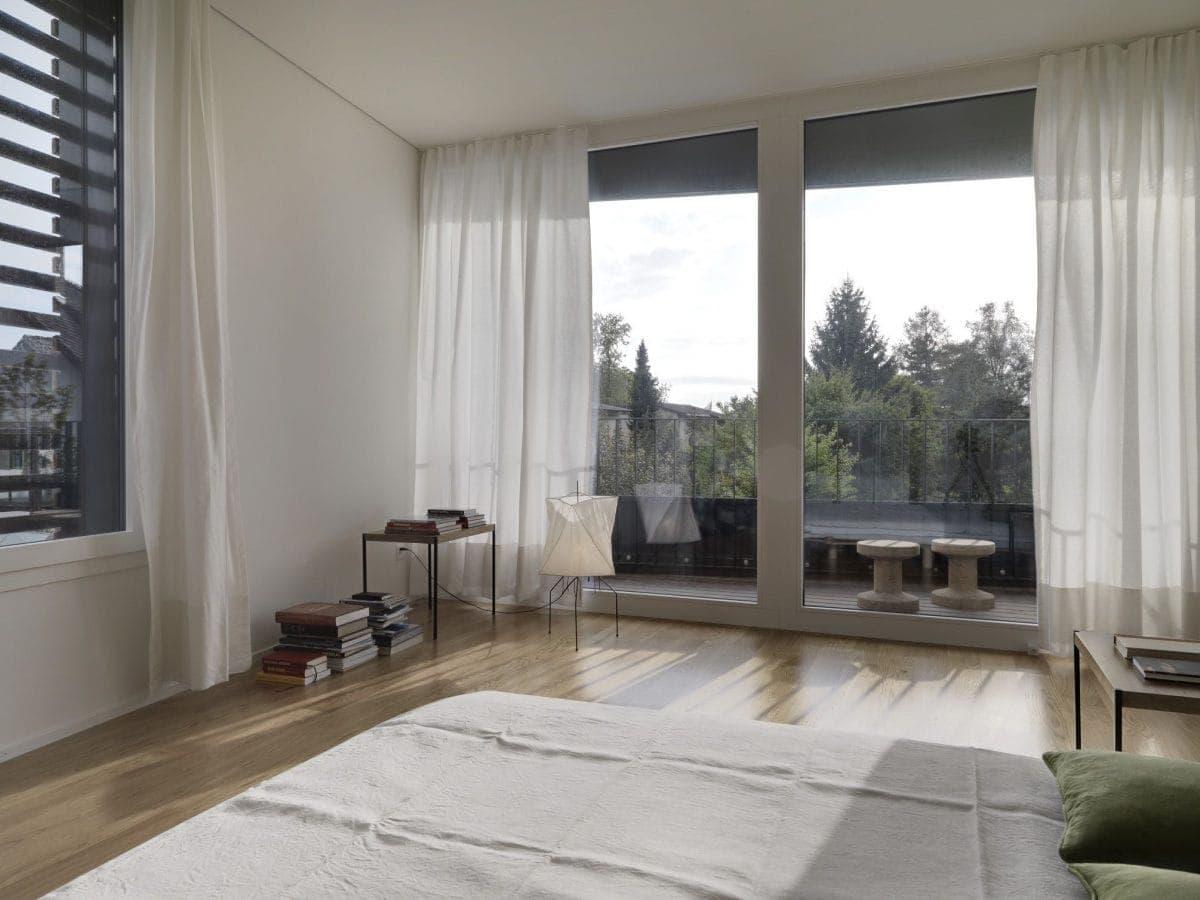 Fenster Innenseite Haus S Dietilkon - Foto von Bruno Helbling, Zürich