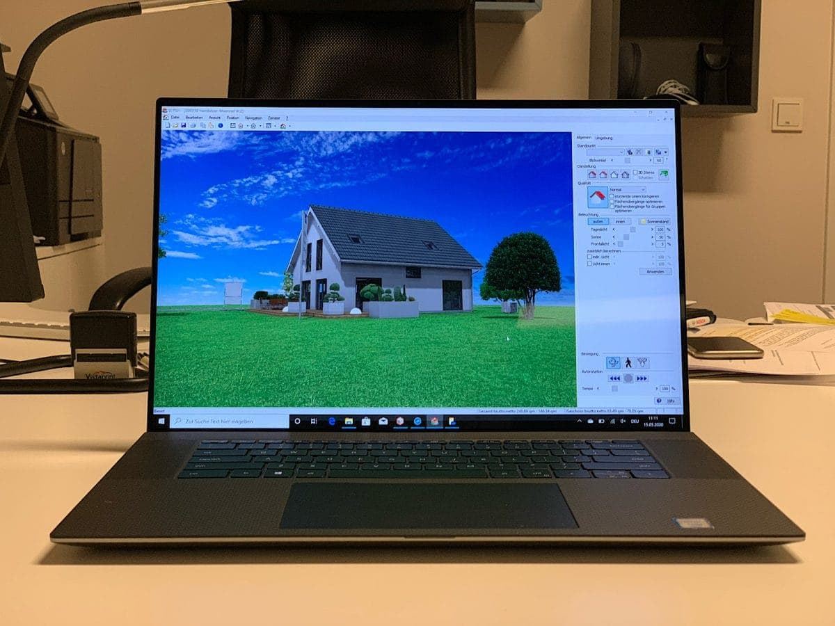 Dell Precision 5750 - mit CAD Software
