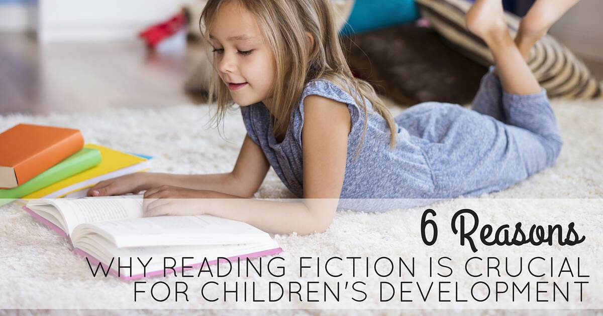 Six Reasons Why Reading Fiction is Crucial for Children's Development