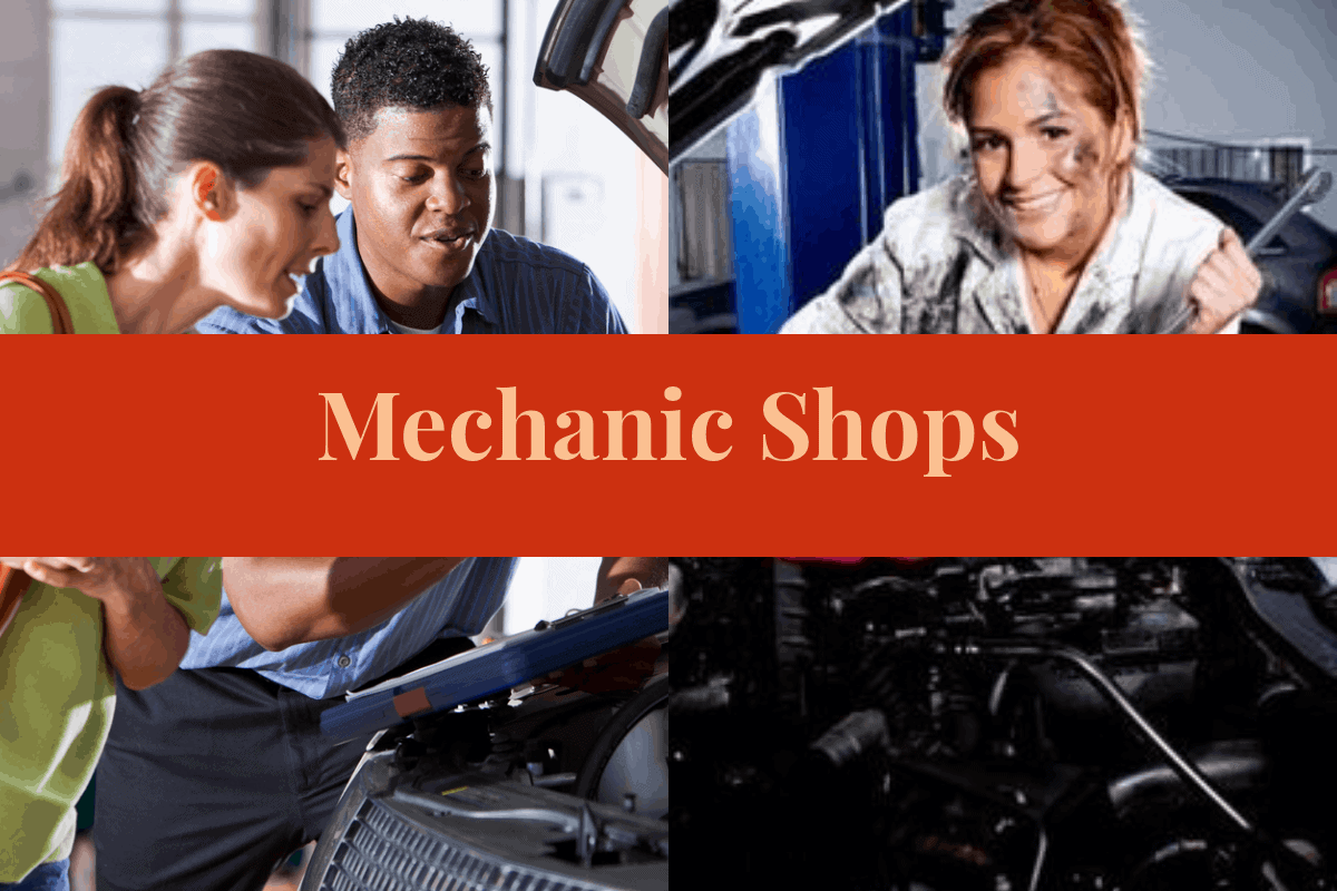 The Different Types of Auto Mechanic Shops Article Image
