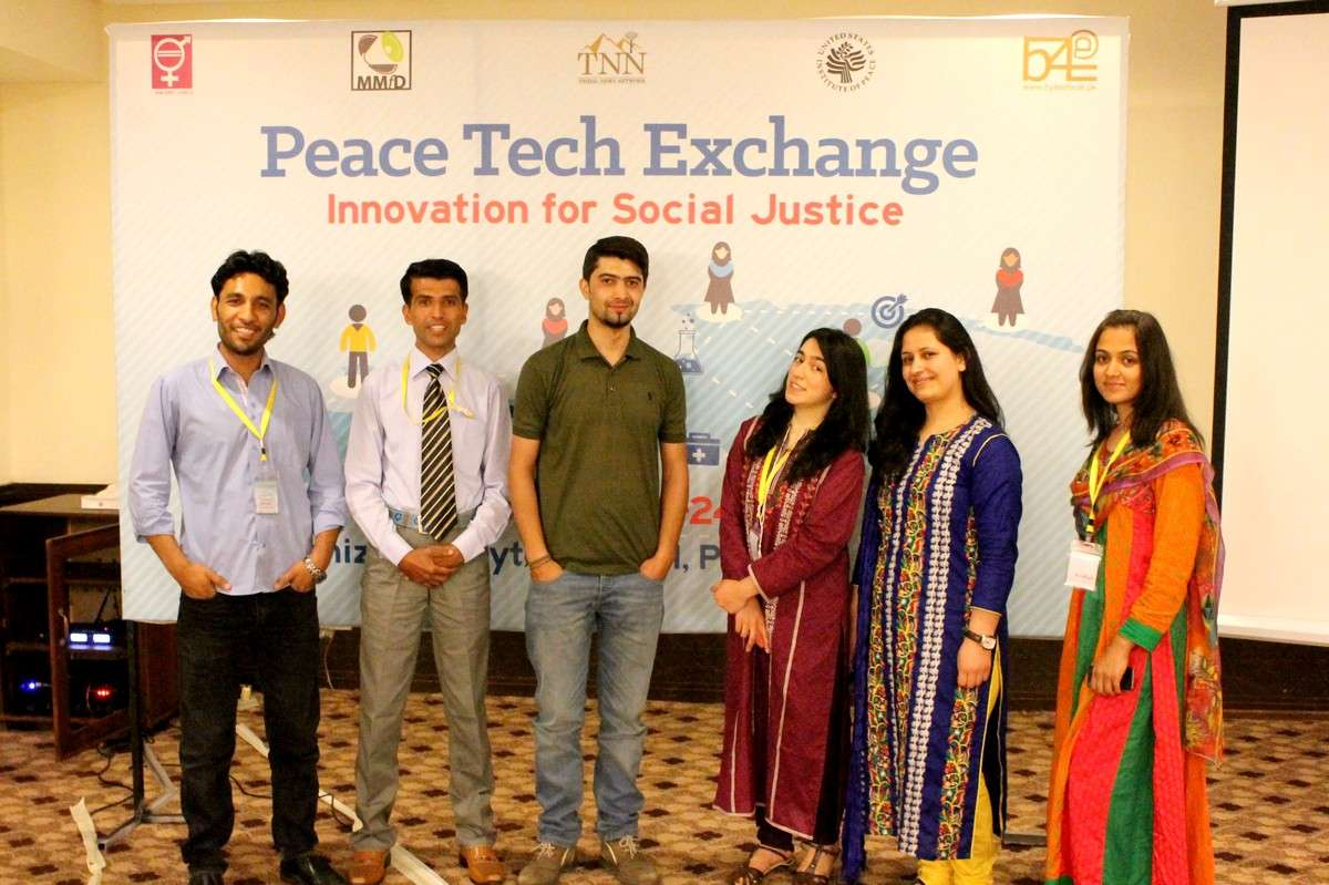 Team GB-C at Peace Tech Exchange, Islamabad