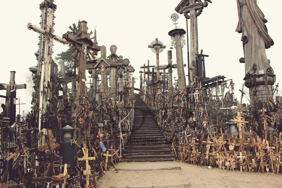 100.000 Crosses at The Hill Of Crosses