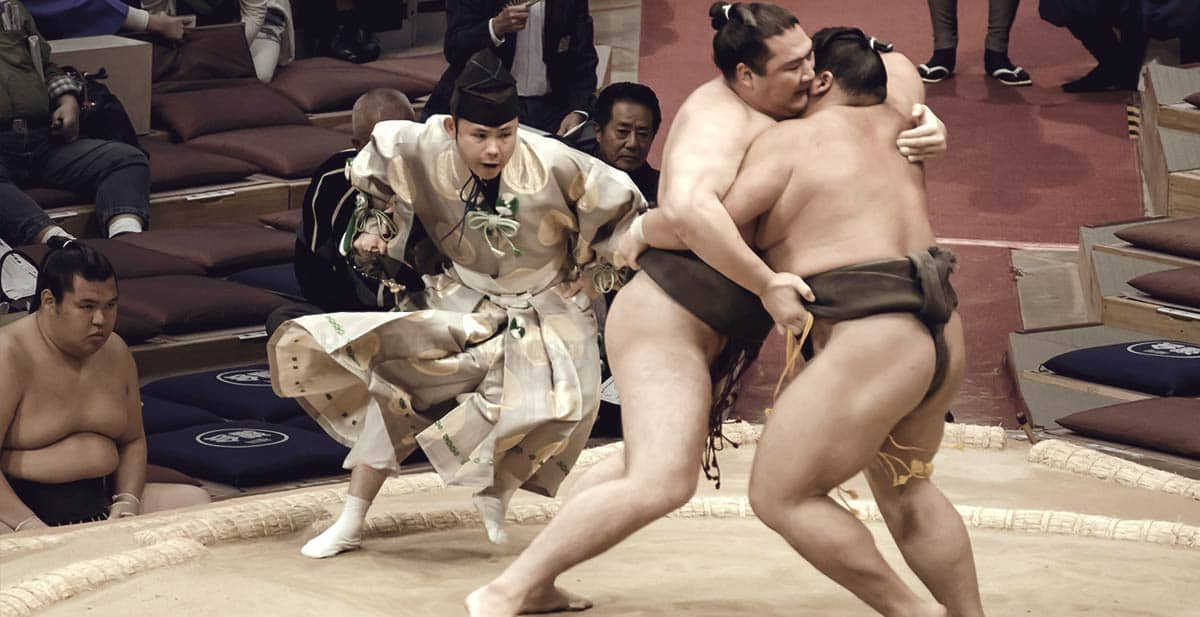 10 Hours of Big Boys fighting - Sumo in Japan