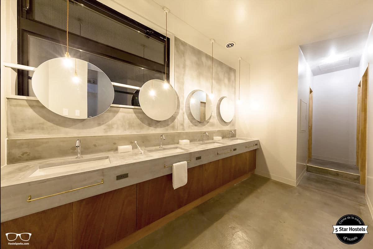 The Share Hotel Kazanawa and the cool bathrooms