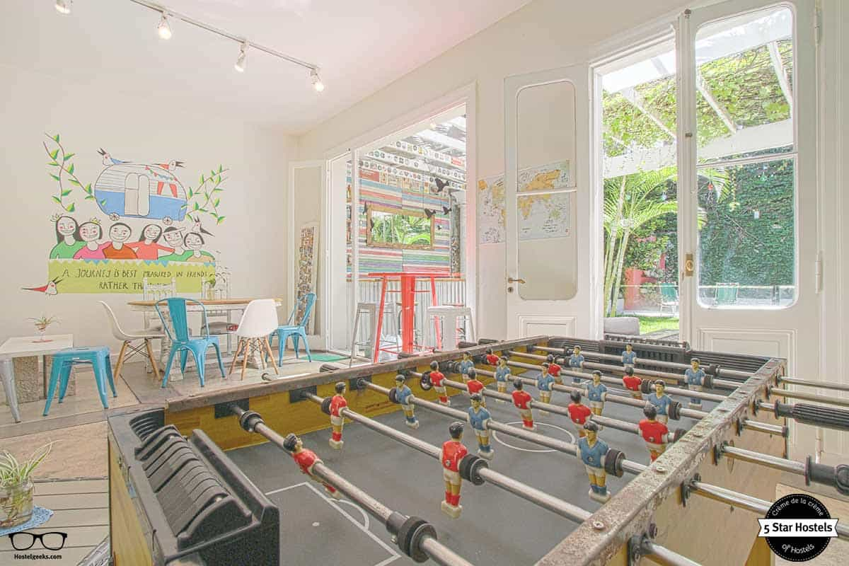 Dare to play at Caravan BA, hostel in Buenos Aires