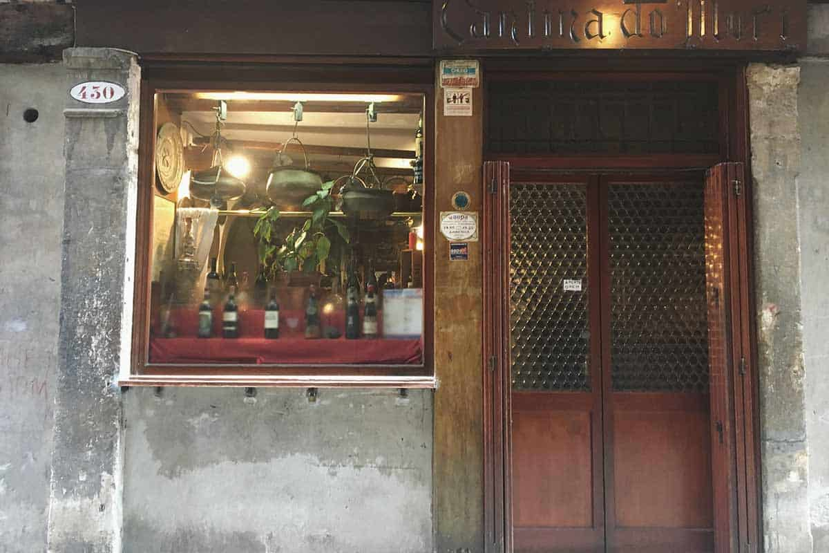 An old cantina in Venice