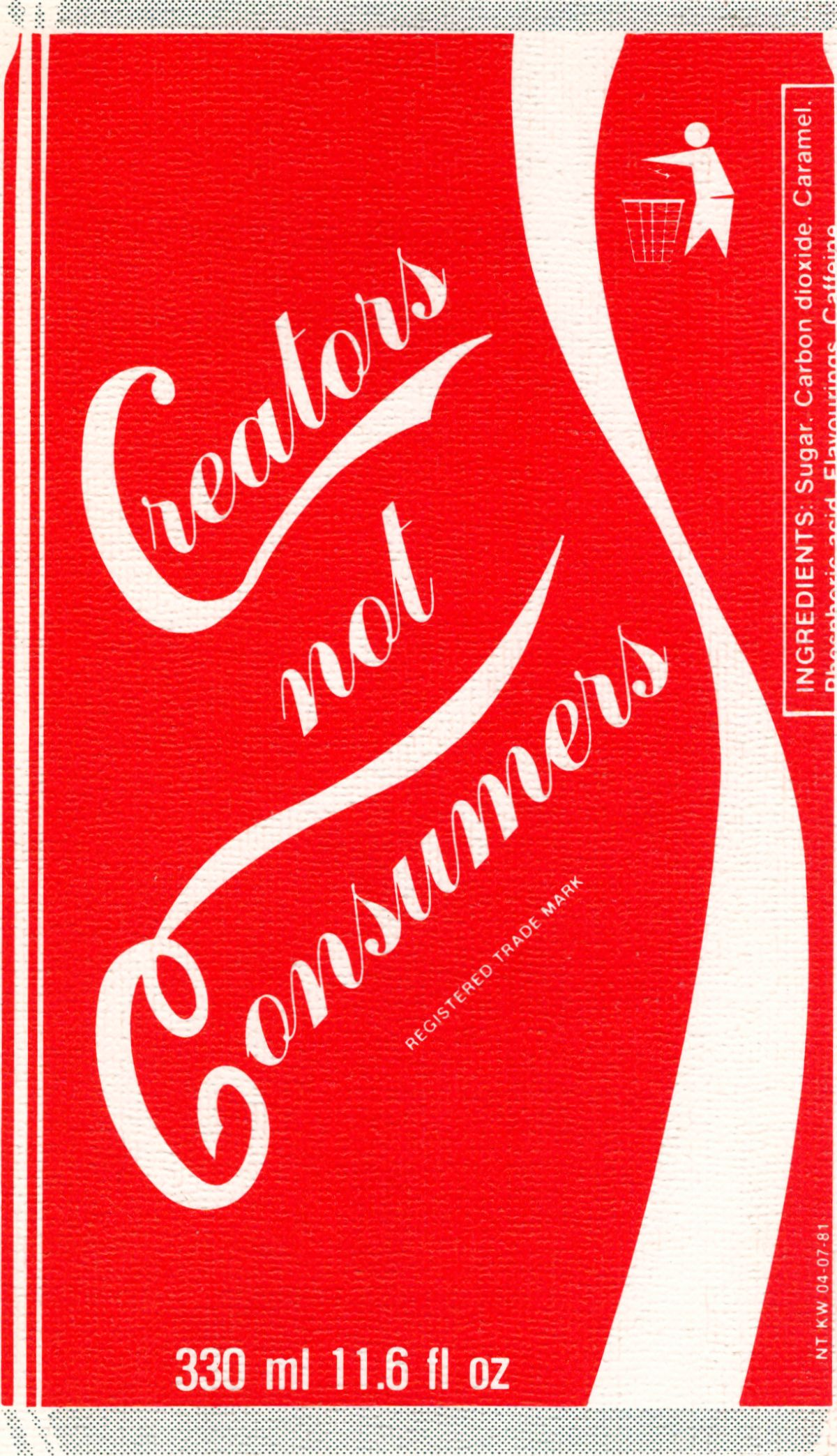 Creators not Consumers - cover of second edition
