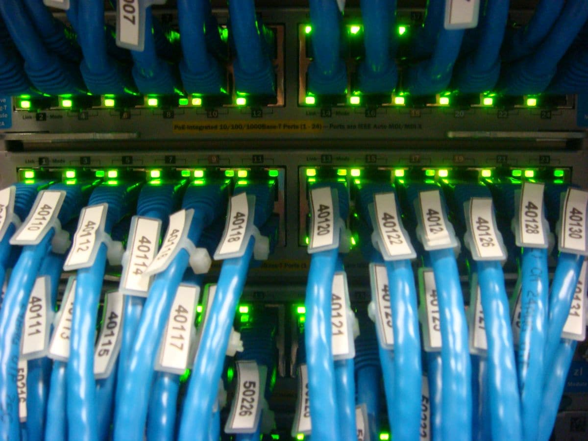 Server farm by sugree on flickr