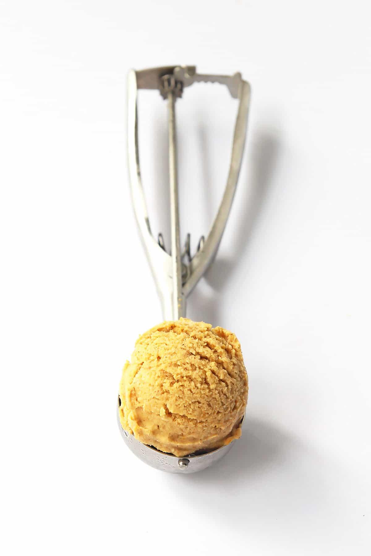 Pumpkin Ice Cream Scoop