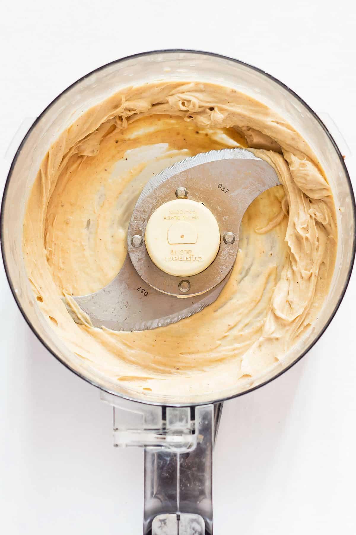 Blended Peanut Butter Nice Cream