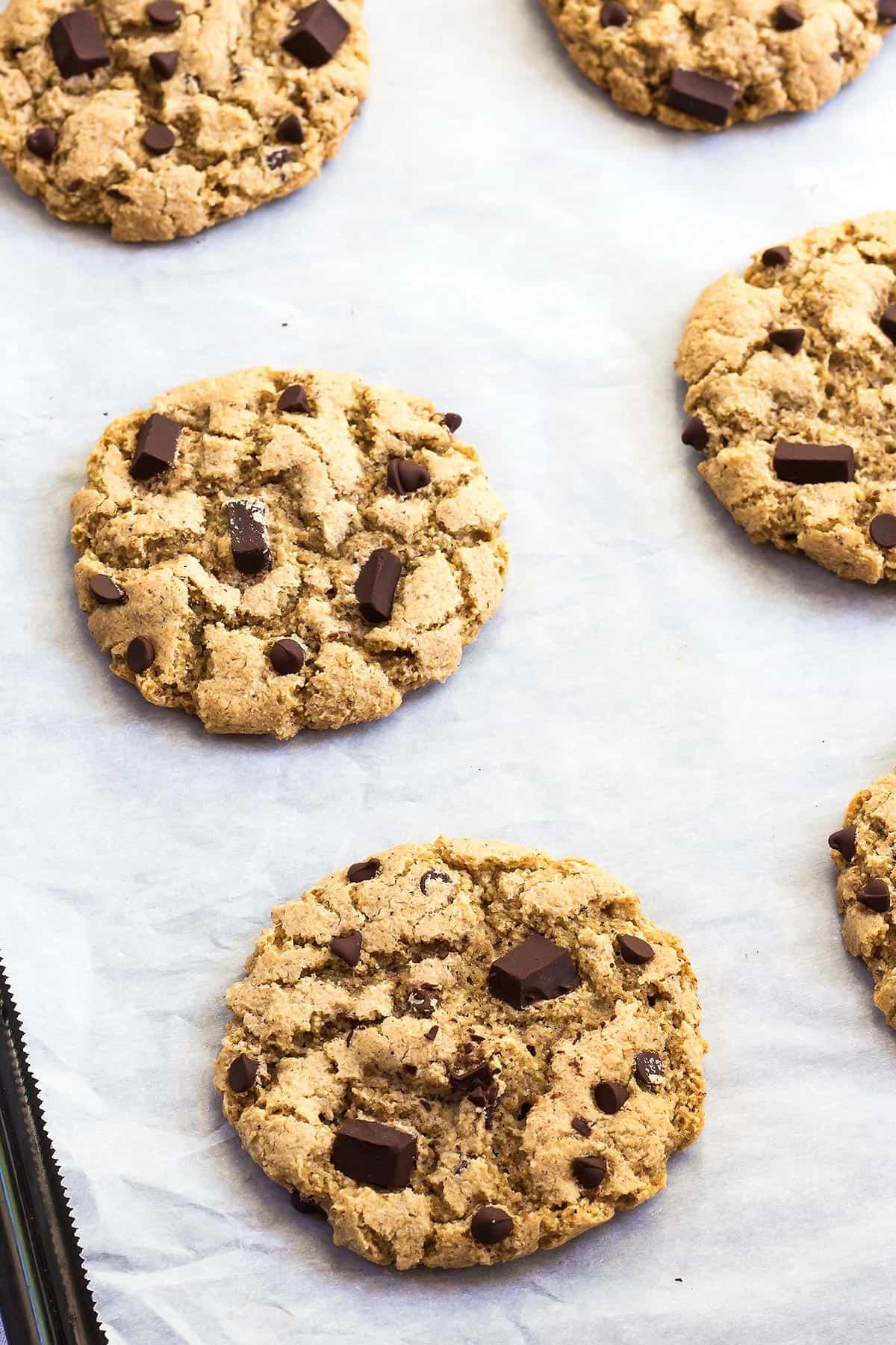 Baked Tigernut Flour Cookies