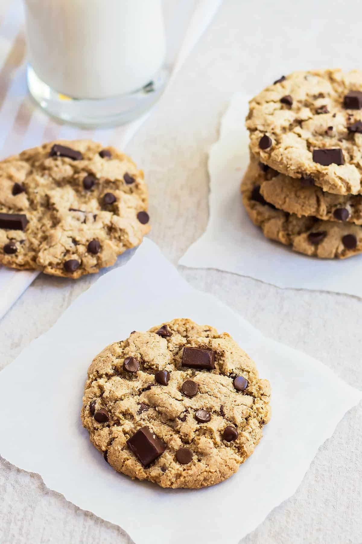 Tigernut Flour Chocolate Chip Cookies