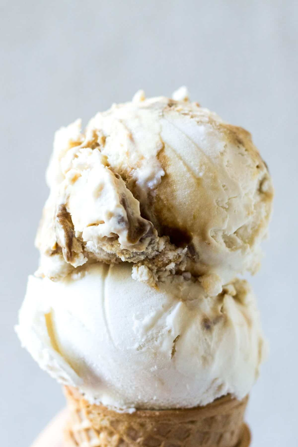 Salted Caramel Vegan Ice Cream