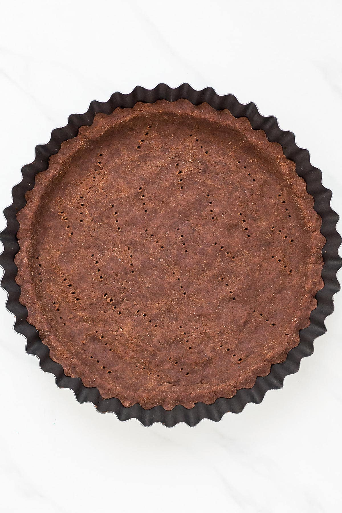 Coconut Flour Chocolate Pie Crust