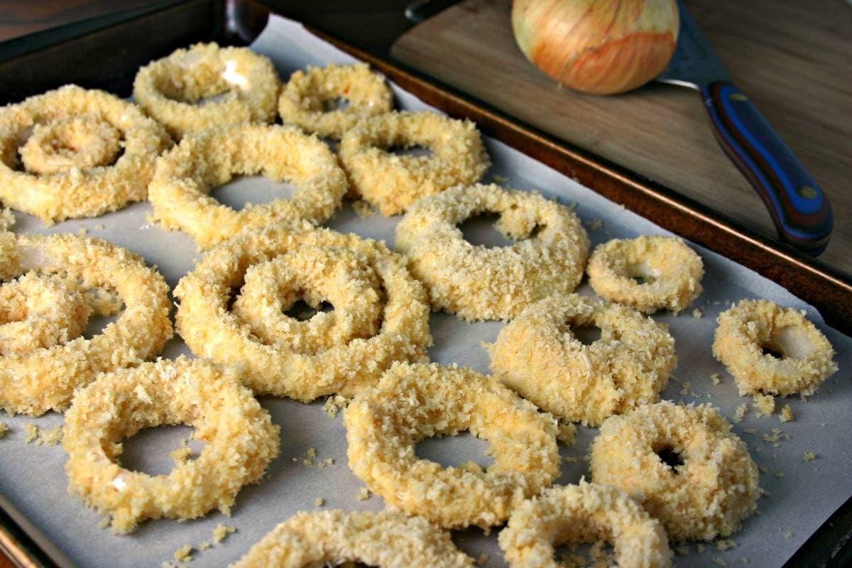 Crispy Baked Onion Rings   Life, Love, and Good Food
