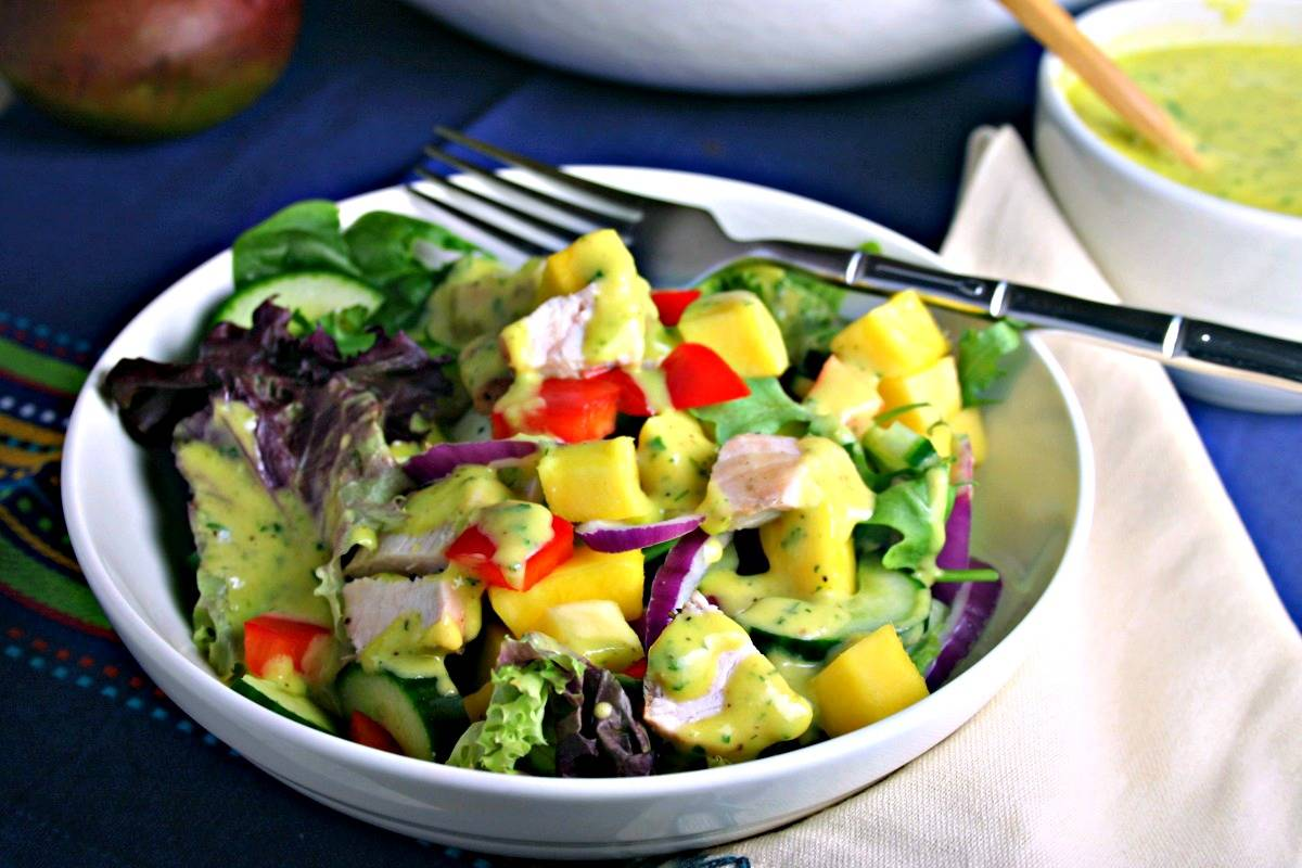 Mango Chicken Chopped Salad | Life, Love, and Good Food