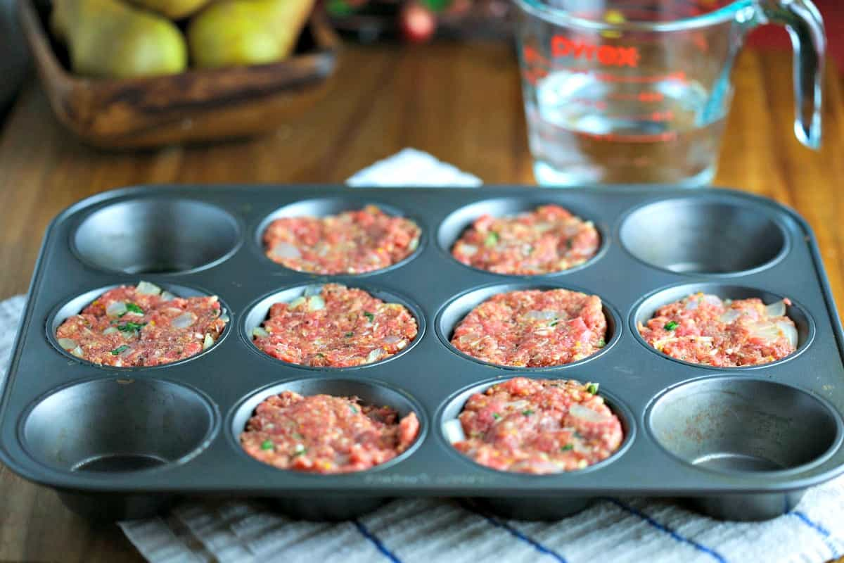 Easy Muffin Tin Meatloaf | Life, Love, and Good Food