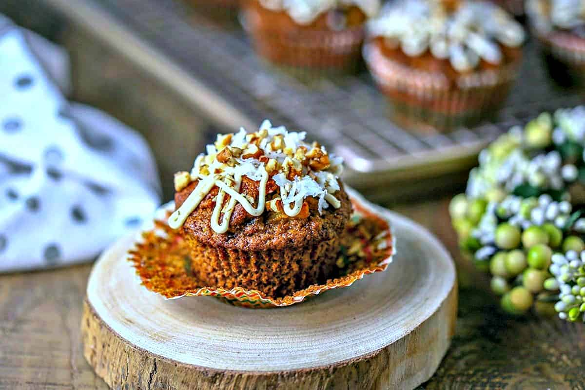 Carrot Coconut Muffins | Life, Love, and Good Food