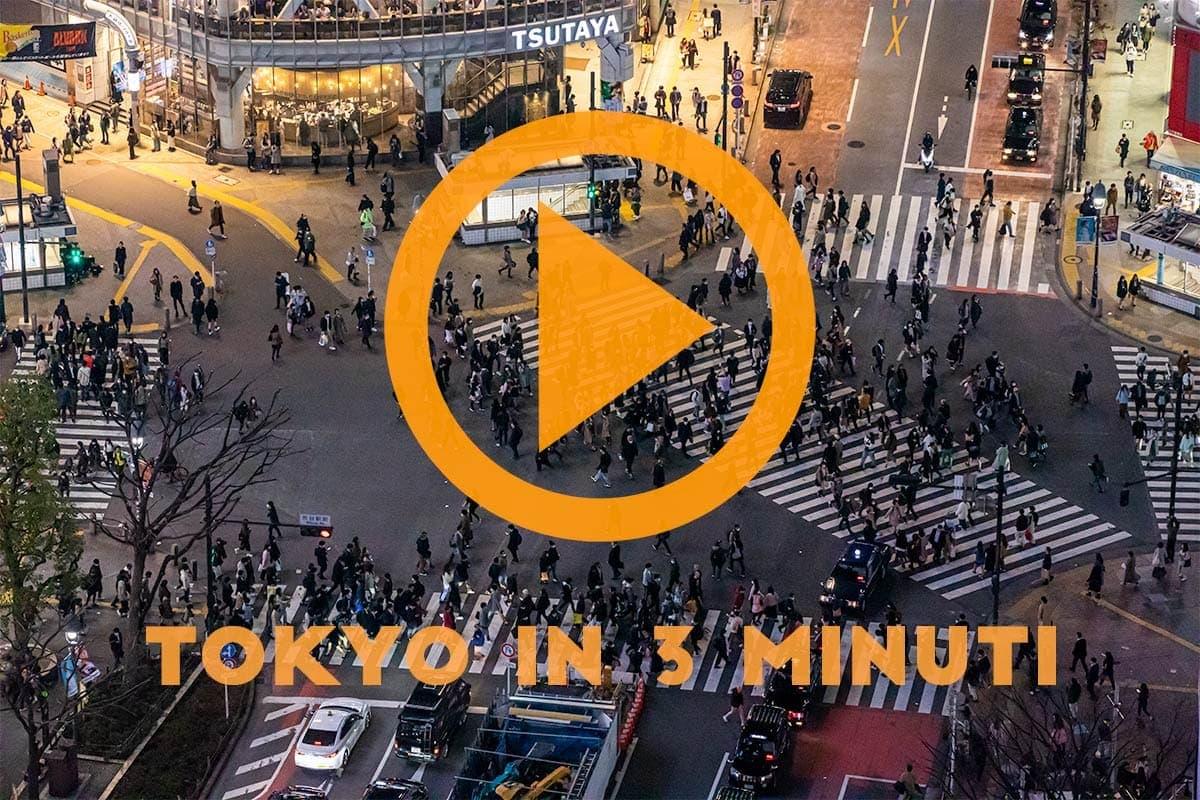 tokyo in 3 minuti