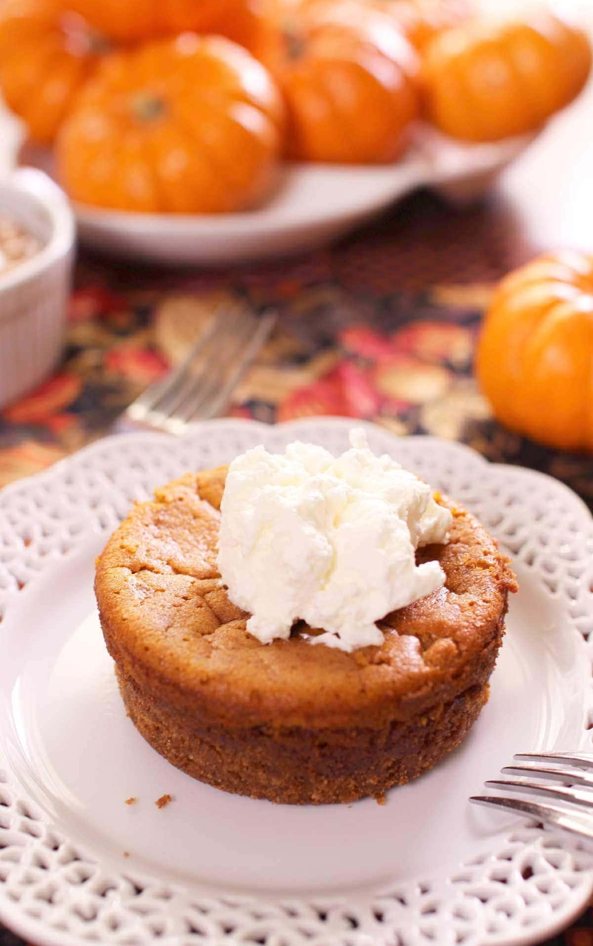 Best Pumpkin Pie Recipe Single Serving One Dish Kitchen