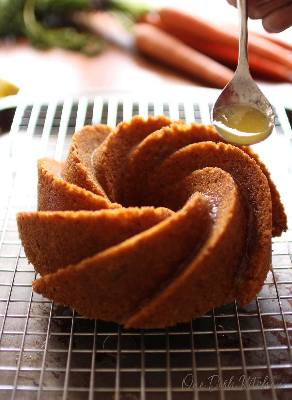 a carrot bundt cake | one dish kitchen