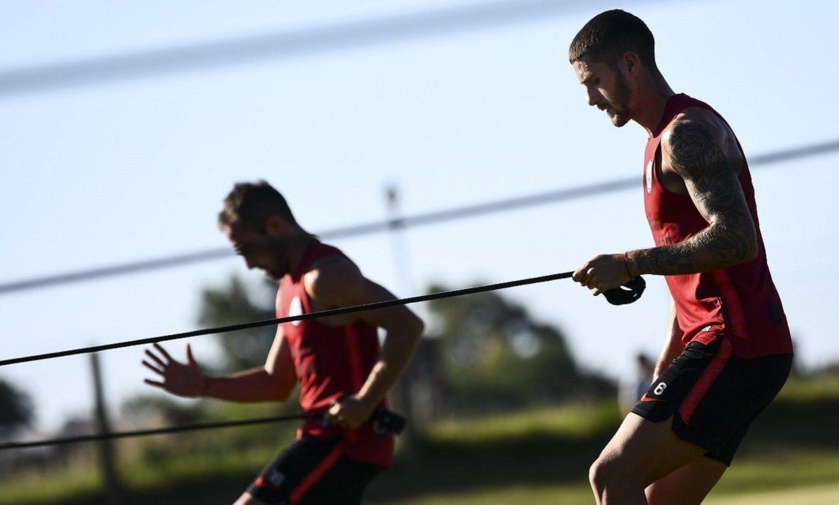 entrenamiento Ciudad Deportiva