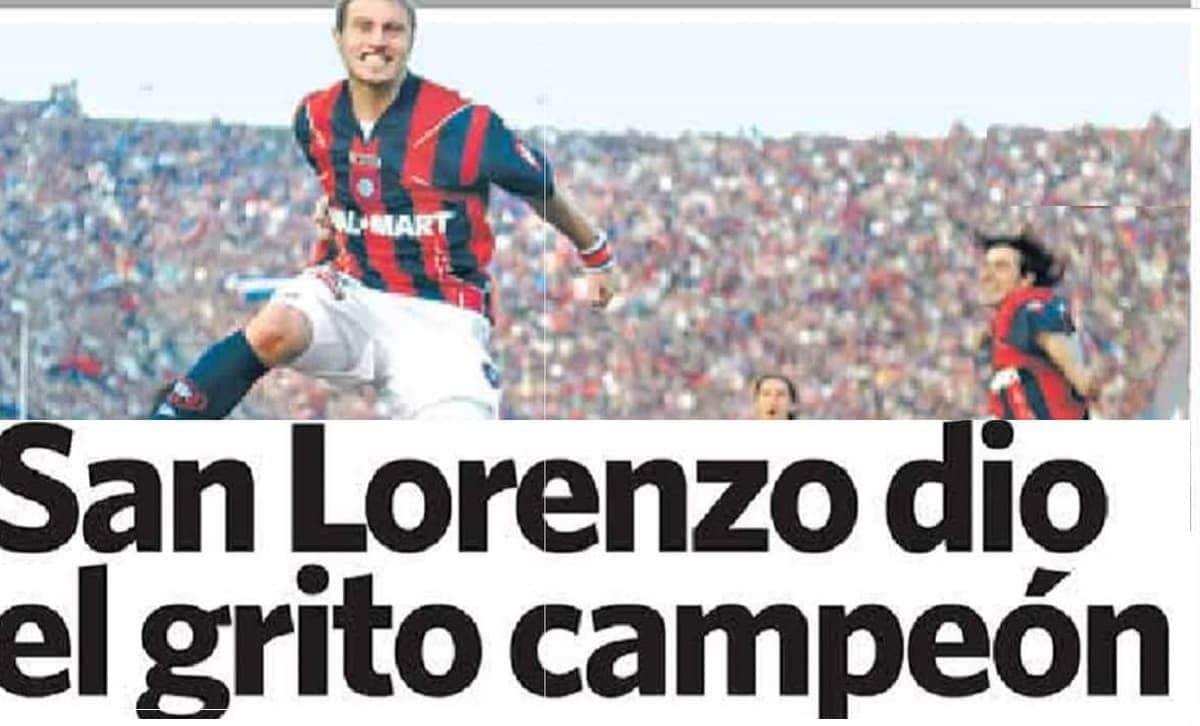 san lorenzo campeón 2007