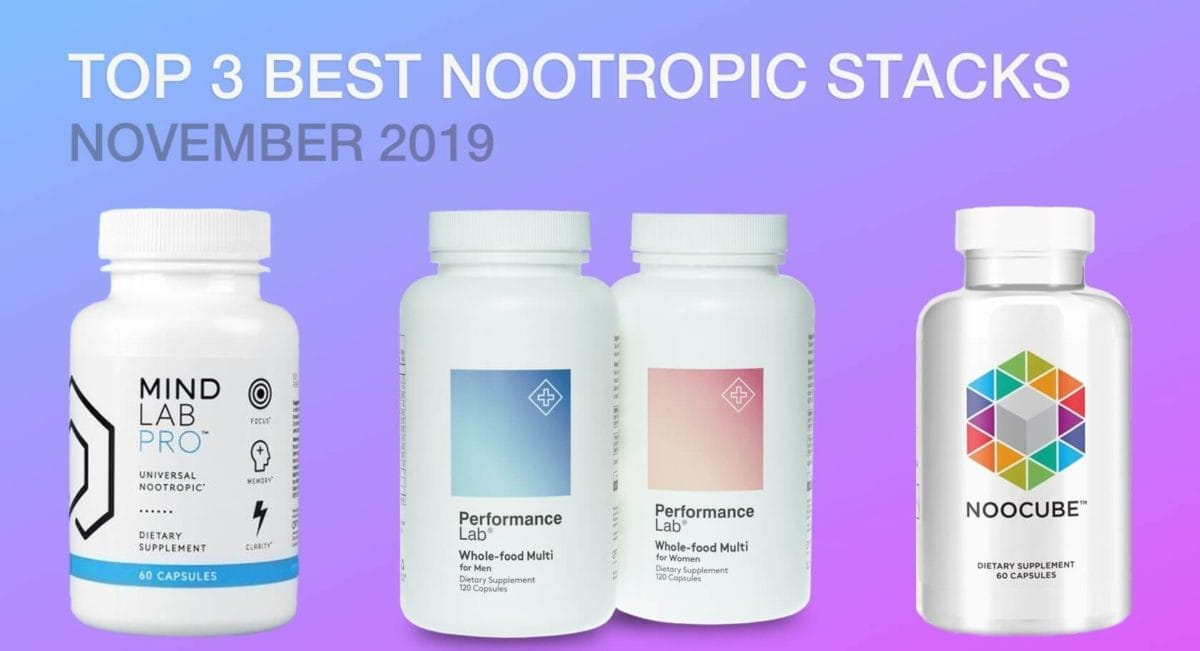 best nootropic stacks to beat anxiety, depression and stress in 2020 noocube mind lab pro performance lab supplements are best nootropic supplements in the market today improve your brain power, memory, focus, and cognition
