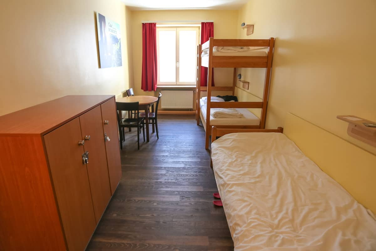 Euro Youth Hostel in Munich bedrooms