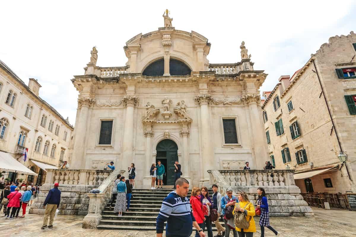Go inside the St. Blaise Church