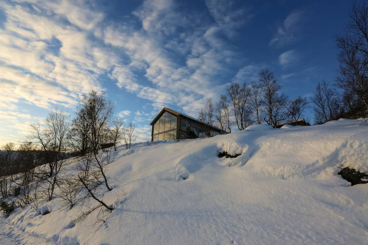 Cabañas en Snowhotel