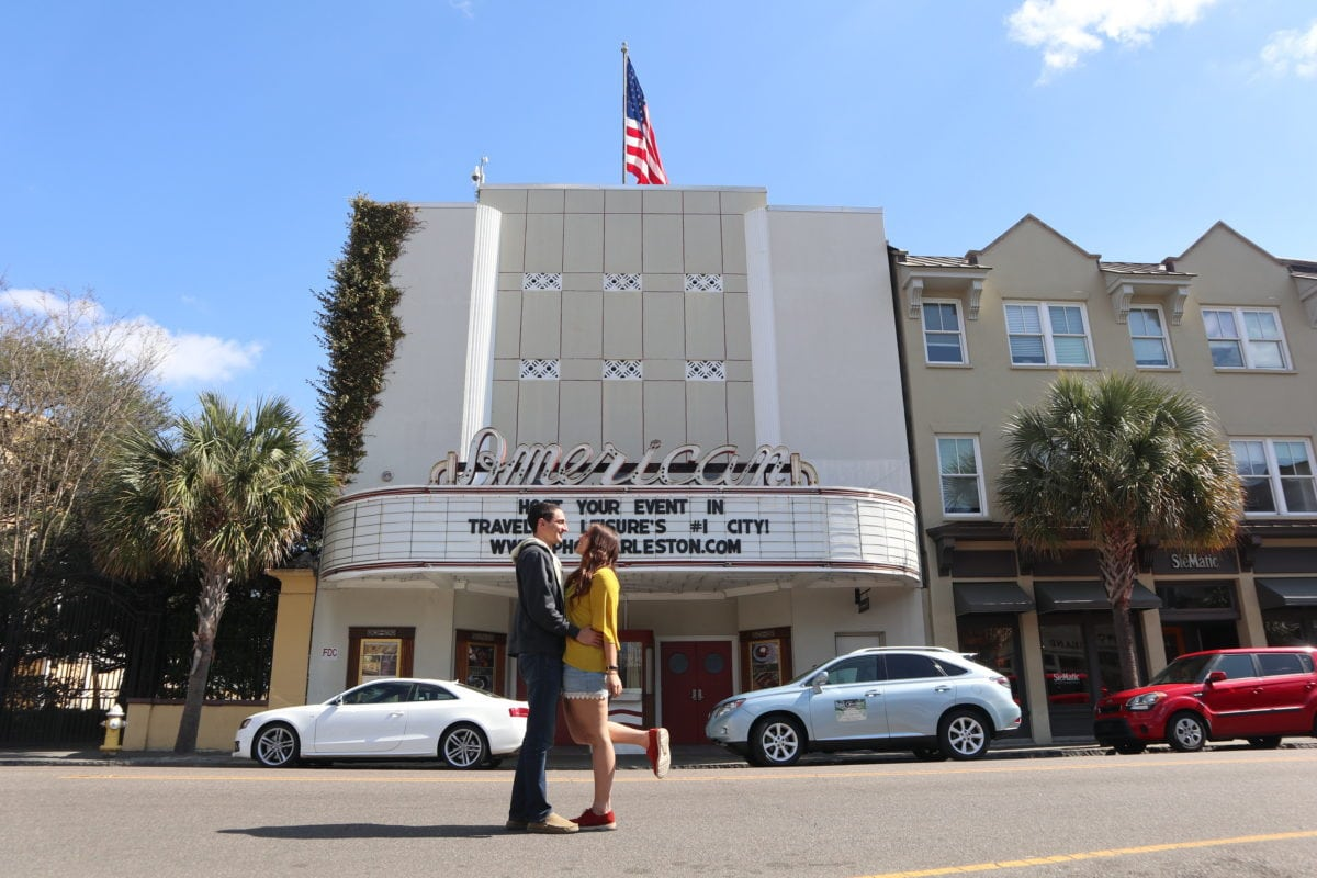 In this theater is where Noah and Allie went on a double date for their first date. The building no longer serves as a theater but now it is a popular event venue in the city.