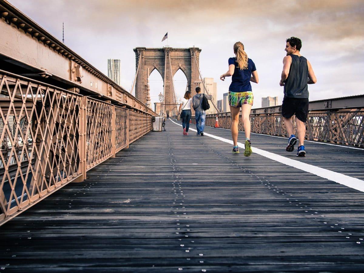 jogging in new york