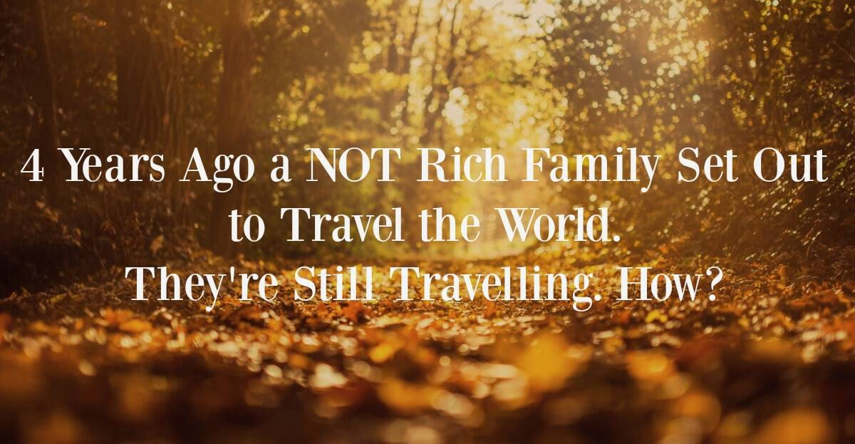 Do you have to be rich to travel the world