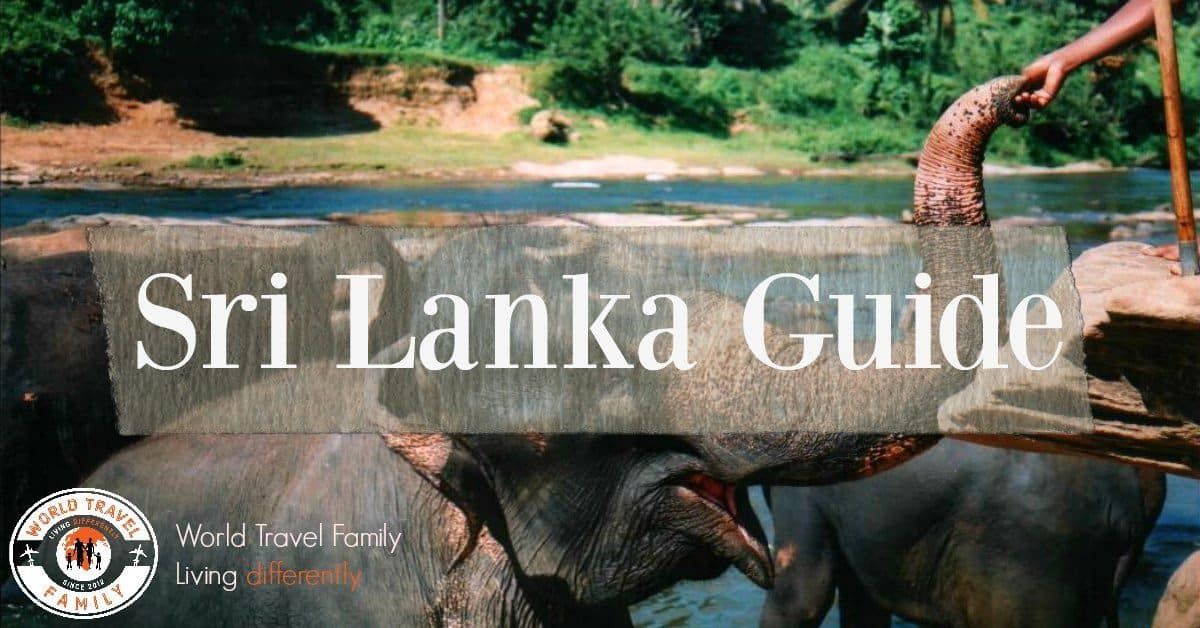Sri Lanka travel blog guide