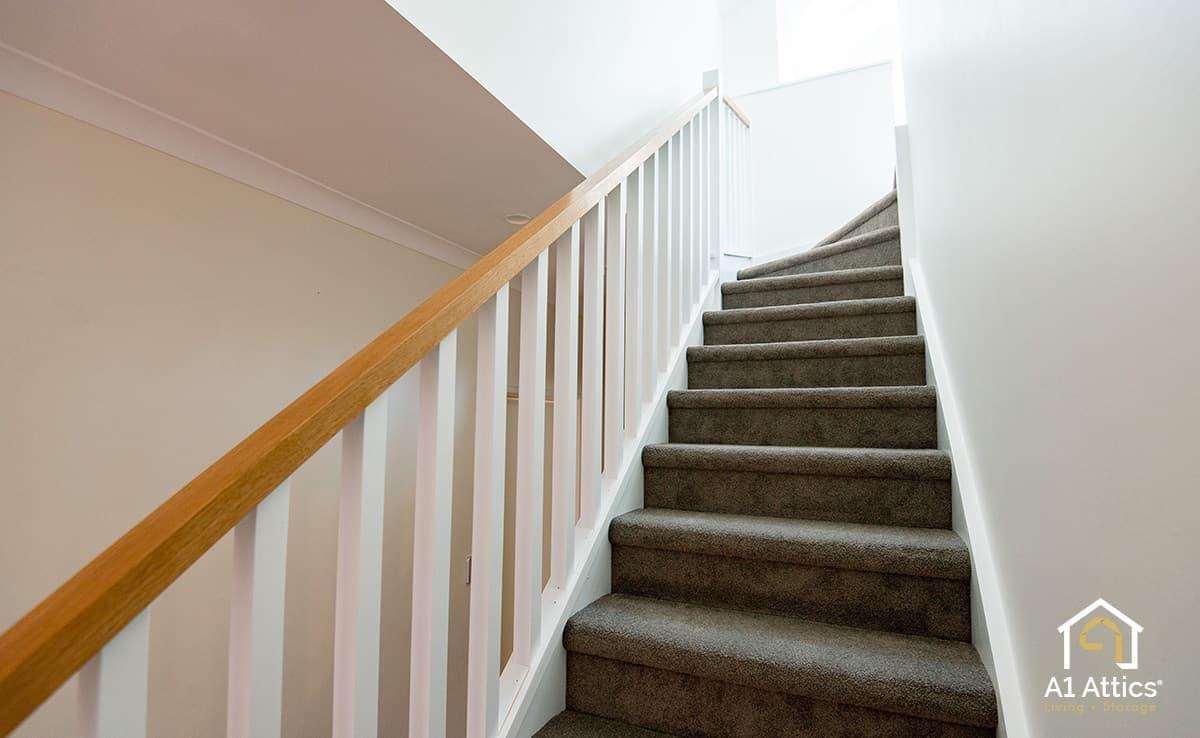 attic conversion staircase