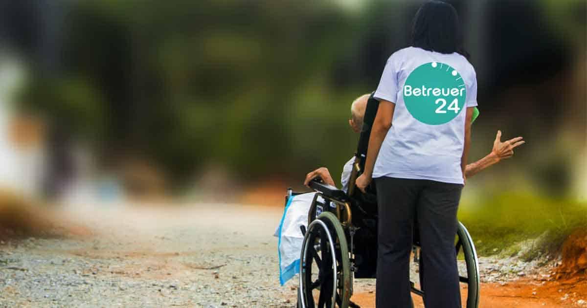 Seniorenbetreuung Die Kinder wohnen weit weg, es gibt zu wenige Pflegekräfte sogenante 24 Stunden Betreuer.