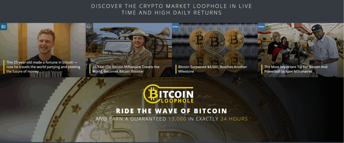 Bitcoin Loophole App => Official Software 2020 [On TV!]