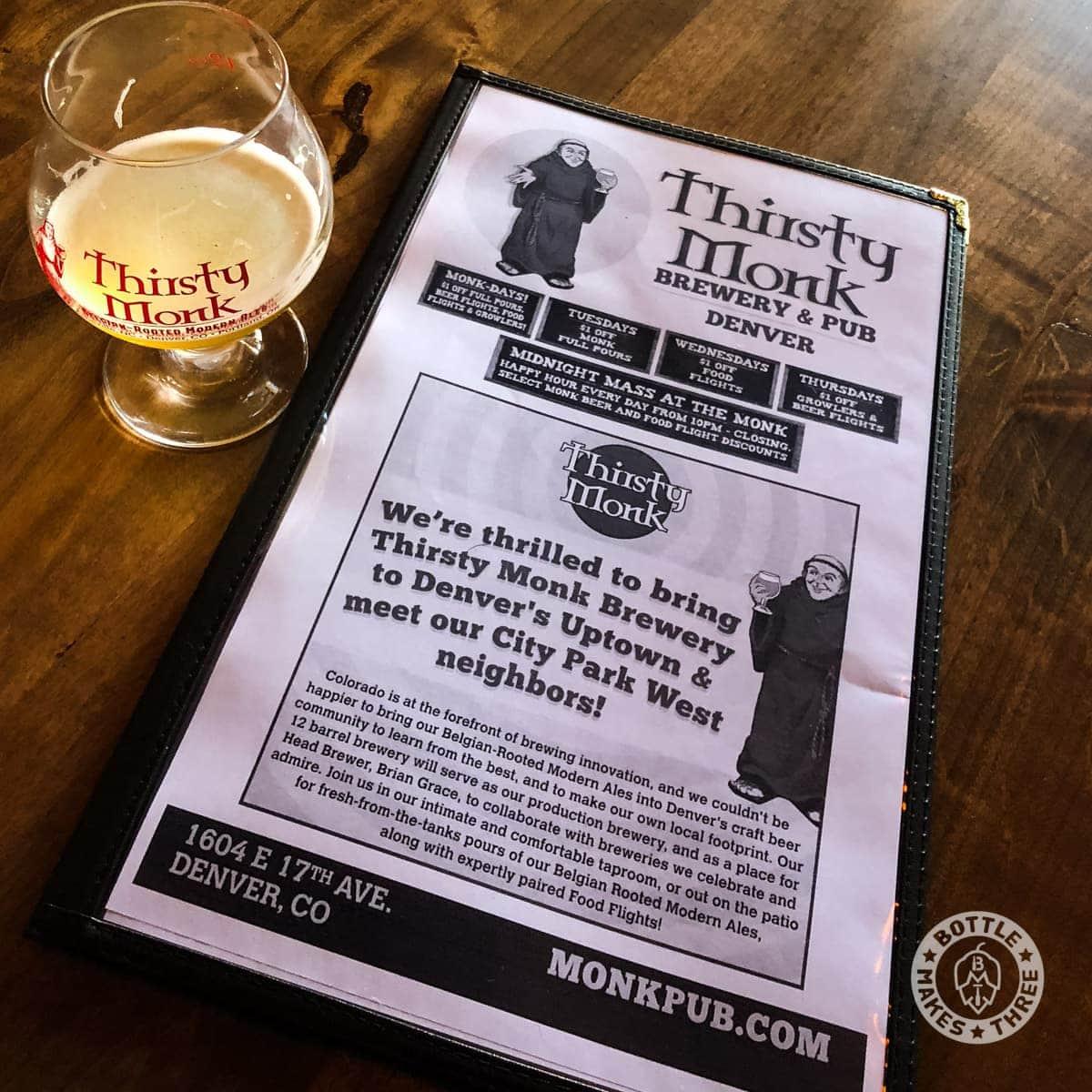 Thirsty Monk, Denver