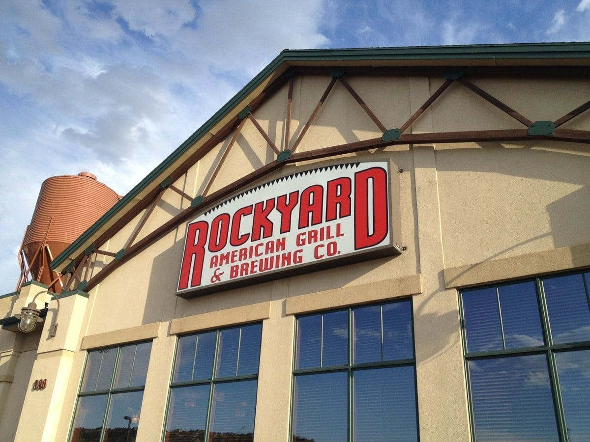 Rockyard Brewing Company in Castle Rock, Colorado.